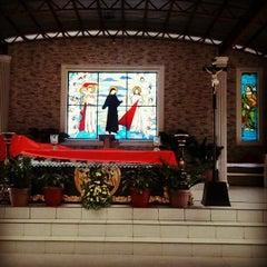 Photo taken at National Shrine of the Divine Mercy by Karen B. on 9/16/2012