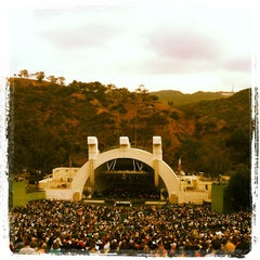 Photo taken at The Hollywood Bowl by Melinda M. on 3/31/2013