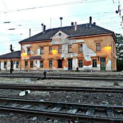 Photo taken at Rákosrendező vasútállomás by Ádám N. on 5/16/2013