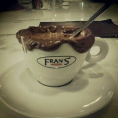 Photo taken at Fran's Café by Luiz F. on 4/24/2013