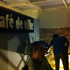 Photo taken at Café de Ville by Valéria S. on 3/17/2013
