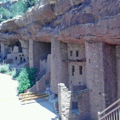 Photo taken at Manitou Cliff Dwellings by Ally J. on 6/19/2013