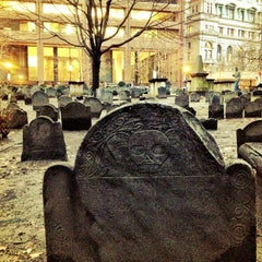 Photo taken at King's Chapel Burying Ground by Castle on 12/27/2012