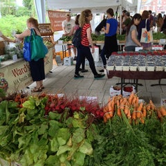 Photo taken at Harvard Farmers' Market by Bernie D. on 7/2/2013
