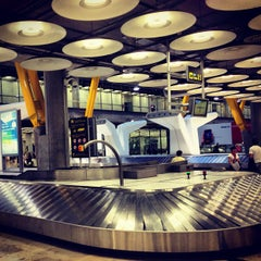 Photo taken at Aeropuerto Adolfo Suárez Madrid-Barajas (MAD) by Hide T. on 6/27/2013