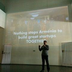 Photo taken at TUMO Center for Creative Technologies   Թումո ստեղծարար տեխնոլոգիաների կենտրոն by Arpiné G. on 4/26/2015