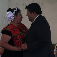Photo taken at San Pedro Atocpan by Erika O. on 9/5/2015