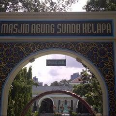 Photo taken at Masjid Agung Sunda Kelapa by Agung D. on 6/14/2013