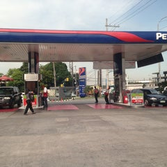 Photo taken at Petron Service Station by Armand-Joyce A. on 6/26/2013