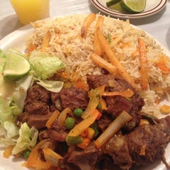 Photo taken at African Paradise Restaurant by Marie G. on 10/1/2014