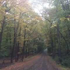 Photo taken at Jockey Hollow by Weiguang S. on 10/4/2014