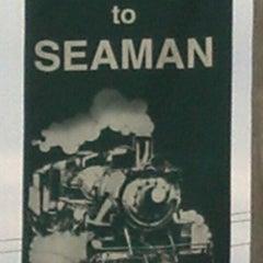 Photo taken at Seaman by Randy D. on 8/13/2013