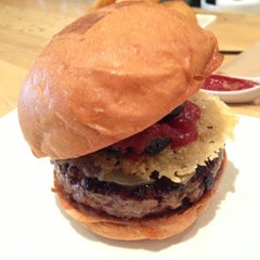 Photo taken at Umami Burger by nozo on 11/14/2012