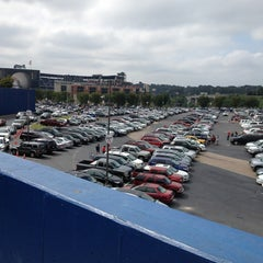 Photo taken at Turner Field - Blue Lot by Corey H. on 9/15/2013