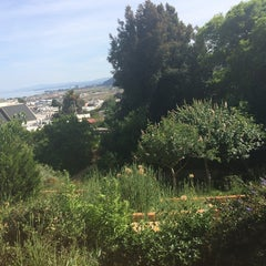Photo taken at Visitacion Valley Greenway by Cara on 4/30/2014