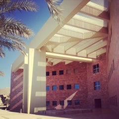 Photo taken at Texas A&M University at Qatar | جامعة تكساس إي أند أم في قطر by Fatma A. on 11/28/2012