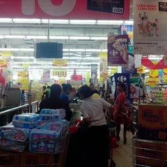 Photo taken at Carrefour by wenang g. on 12/1/2013