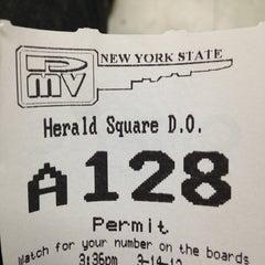 Photo taken at New York State DMV by Max B. on 3/14/2013