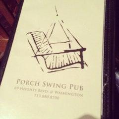 Photo taken at Porch Swing Pub by John P. on 1/16/2013