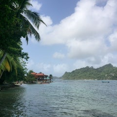 Photo taken at Isla Grande Colon by Alberto P. on 6/15/2015