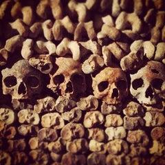 Photo taken at Catacombes de Paris by John C. on 8/4/2013