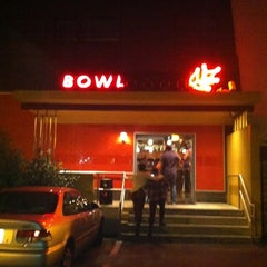 Photo taken at North Bowl by Melissa P. on 10/4/2012