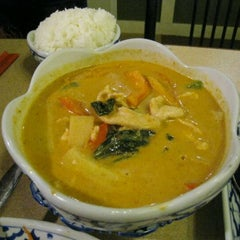Photo taken at Baan Thai by John W. on 1/1/2012