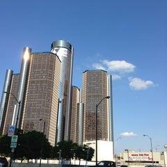Photo taken at Detroit Marriott at the Renaissance Center by Nakkyo J. on 5/19/2013