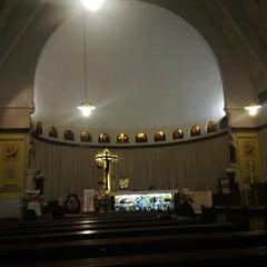 Photo taken at Gereja Santa Theresia by Agus H. on 6/23/2013