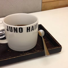 Photo taken at JUNO HAIR 준오헤어 by Hyunho S. on 4/24/2013
