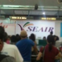 Photo taken at Francisco Bangoy International Airport (DVO) by Edward L. on 2/3/2013