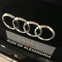 Photo taken at Audi of Alexandria by Kara N. on 3/18/2013