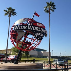 Photo taken at ESPN Wide World of Sports by Michael S. on 3/16/2013