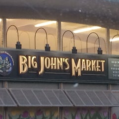 Photo taken at Big John's Market by Estelle on 9/5/2015