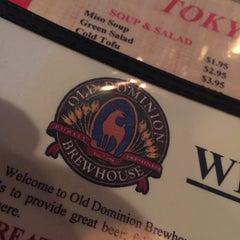 Photo taken at Old Dominion Brew House by Gordon S. on 3/30/2015