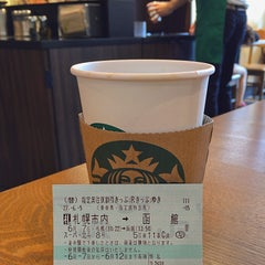 Photo taken at Starbucks Coffee 札幌ステラプレイス センター1階店 by nu1t on 6/7/2015