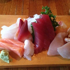 Photo taken at Sagami Japanese Restaurant by Monica L. on 4/6/2013