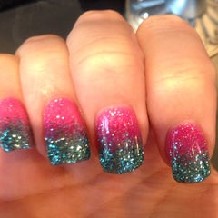 Photo taken at Polished Nails & Spa by Katie K. on 4/12/2014