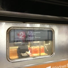 Photo taken at NYCT - Flatbush Ave CRC (2) (5) by 🚇ⓂRailkingⓂ🚇 on 2/25/2013
