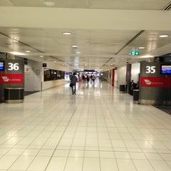 Photo taken at T2 Multi-User Domestic Terminal by Alan L. on 3/25/2013