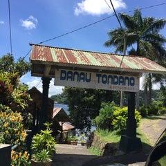 Photo taken at Danau Tondano by Icha R. on 3/8/2015