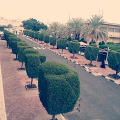 Photo taken at College of Arts by Abdulrahman A. on 1/31/2013