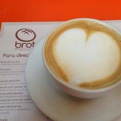 Photo taken at Brot Bakery & Cafe by Shlomo A. on 8/13/2013