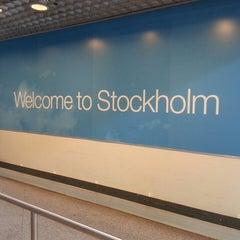 Photo taken at Stockholm-Arlanda Airport (ARN) by Mediodecci L. on 5/21/2013