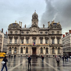 Photo taken at Place des Terreaux by Forigner on 1/21/2013