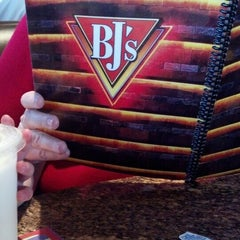 Photo taken at BJ's Restaurant and Brewhouse by Mary W. on 4/5/2013