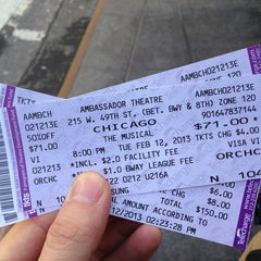 Photo taken at TKTS by Andrew S. on 2/12/2013