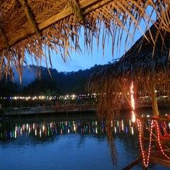 Photo taken at Veg Fish Farm Thai Restaurant (菜园酒家) by Natalie L. on 4/19/2013