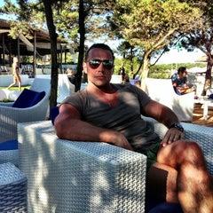 Photo taken at Hotel Romazzino, Costa Smeralda by Дмитрий on 8/11/2013