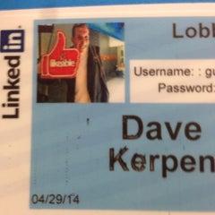 Photo taken at LinkedIn Building 2 by Dave K. on 4/29/2014